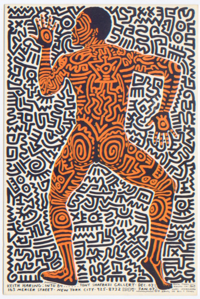 Keith Haring iPhone 5 Cases
